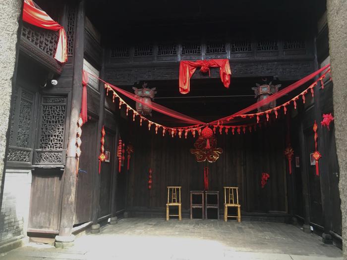 安义古村余庆堂设计