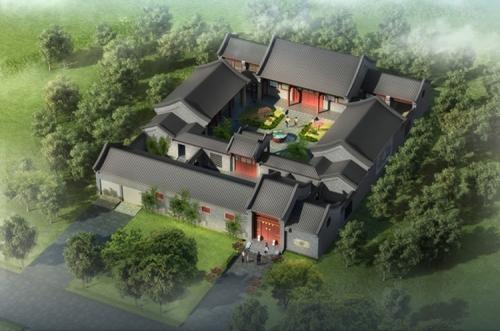 武阳四合院规划设计