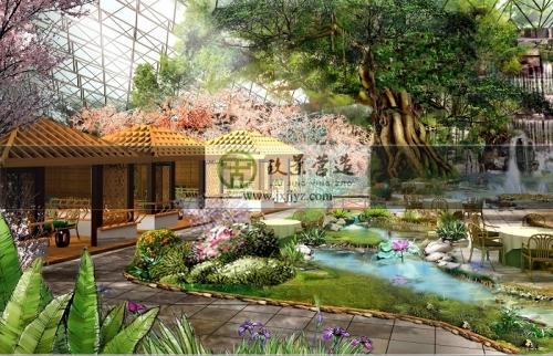 萍乡市农业园生态餐厅设计