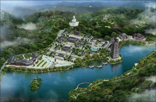 贺州飞来寺规划设计