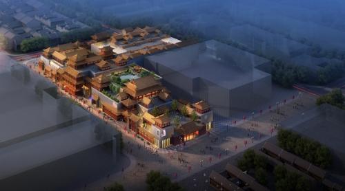 咸阳古建筑展厅设计