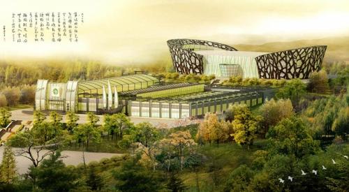 北京阳光珠华生态餐厅