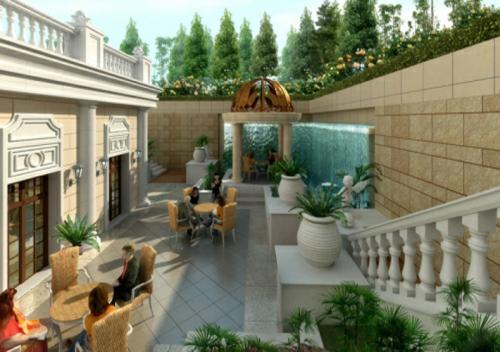 御河湾花园庭院设计