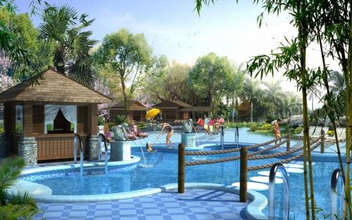 贵阳生态洗浴中心设计