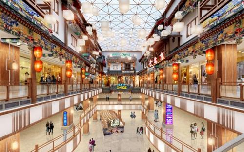 北京银泰商业改造设计