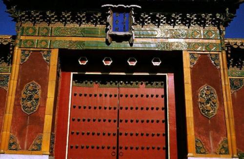古建筑门文化——中国建筑艺术遗产