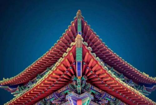中国古建筑文化:古建为何讲究对称格局?