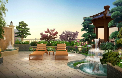 庭院景观绿化空间怎么分配