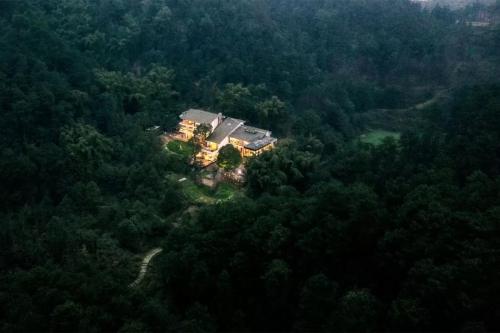 一家四口倾家荡产在山里造房隐居:3年零收入,坚持不通车