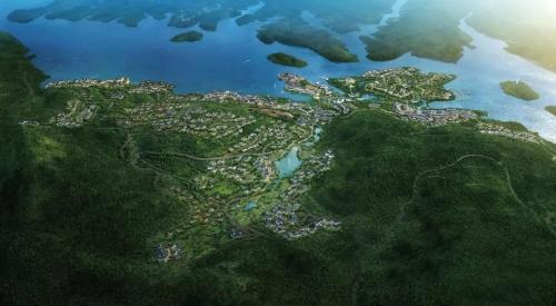 广西巴马赐福湖国际长寿养生度假小镇设计详解