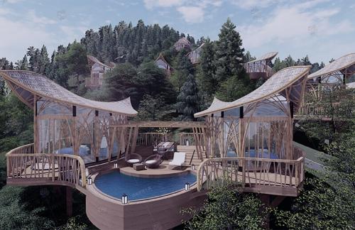 成都市温泉谷度假酒店设计