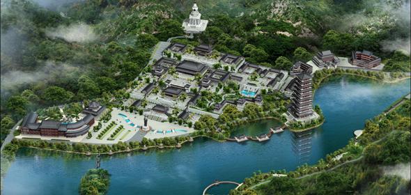 广东省飞来寺规划设计