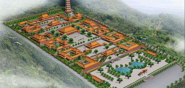 二祖寺规划设计